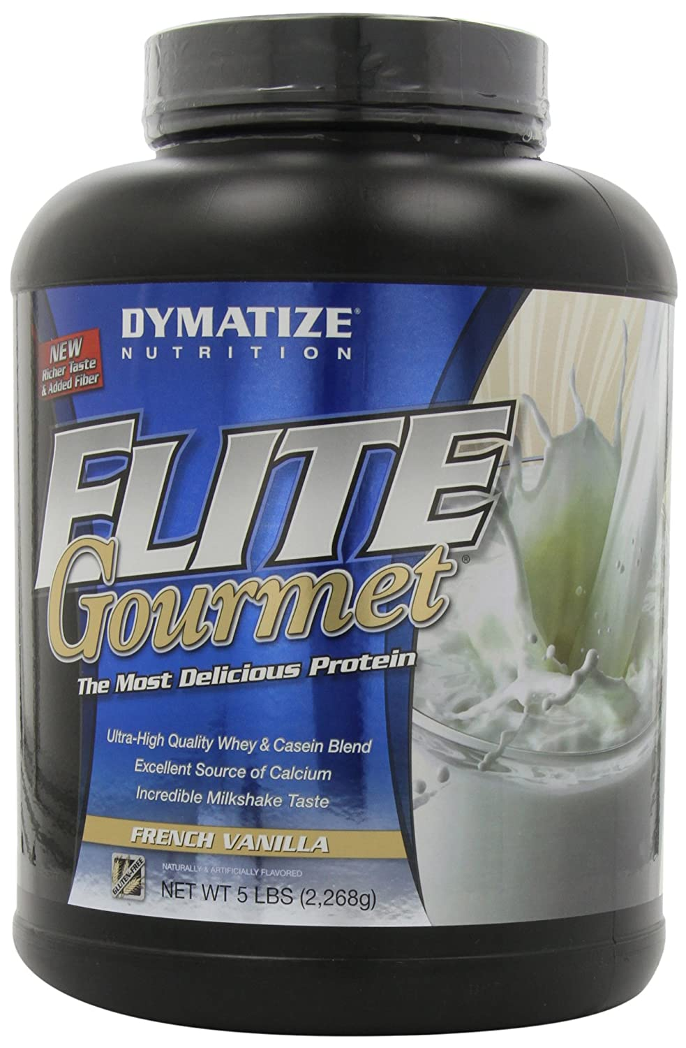 Dymatize Nutrition Elite Whey - 5 lb Gourmet French Vanilla