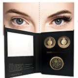 Madame X Magnetic Eyelashes And Magnetic Eyeliner Kit - No Glue & Mess Free - Fast & Easy Application, 2 Different Sets Of Reusable Madame X Eyelashes With Magnetic Eyeliner And Hand Mirror Gift