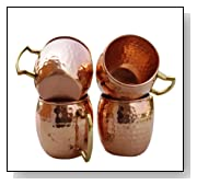 Hammered Copper Moscow Mule Mug Handmade