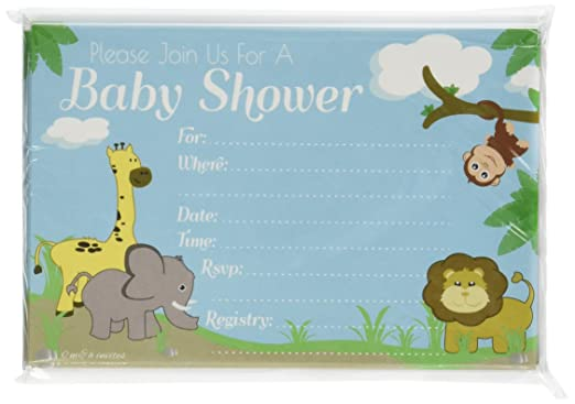 boy jungle baby shower invitations baby shower mania