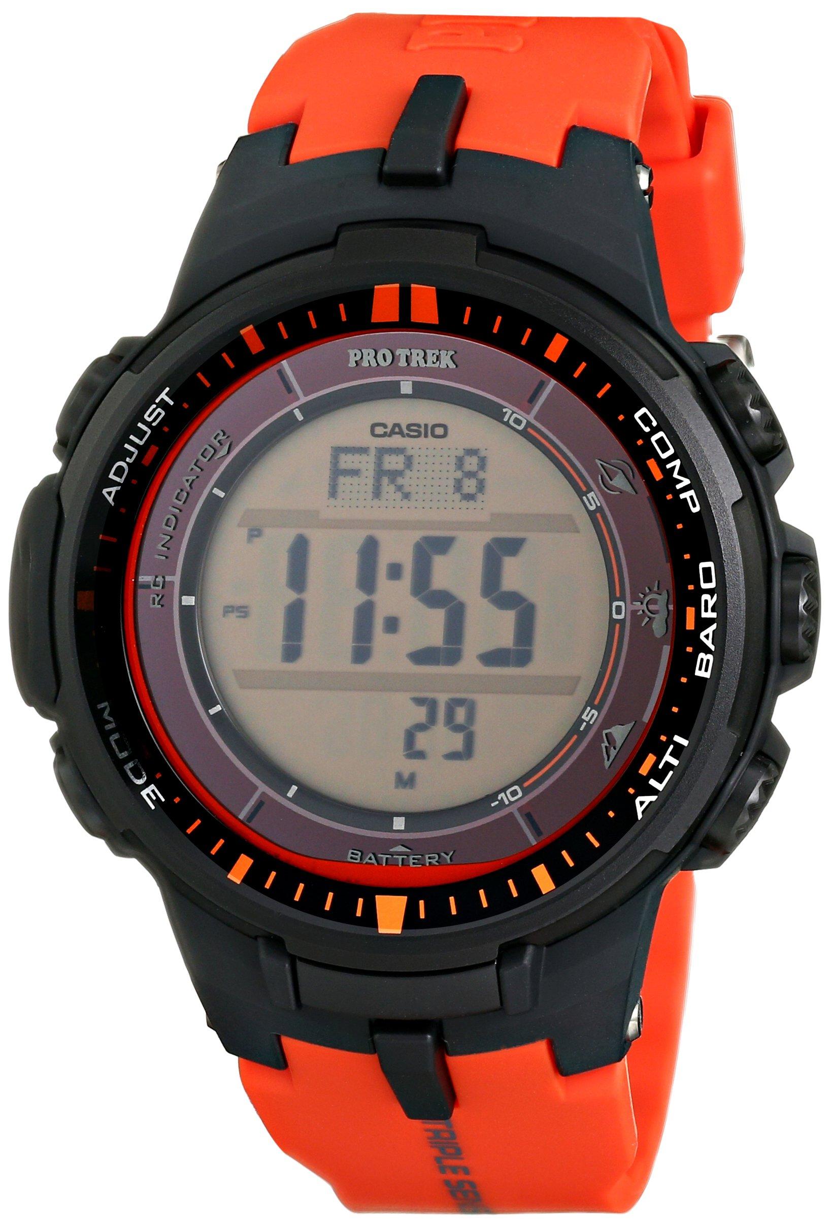 casio 卡西欧 pro trek prw-3000-4dr 登山表
