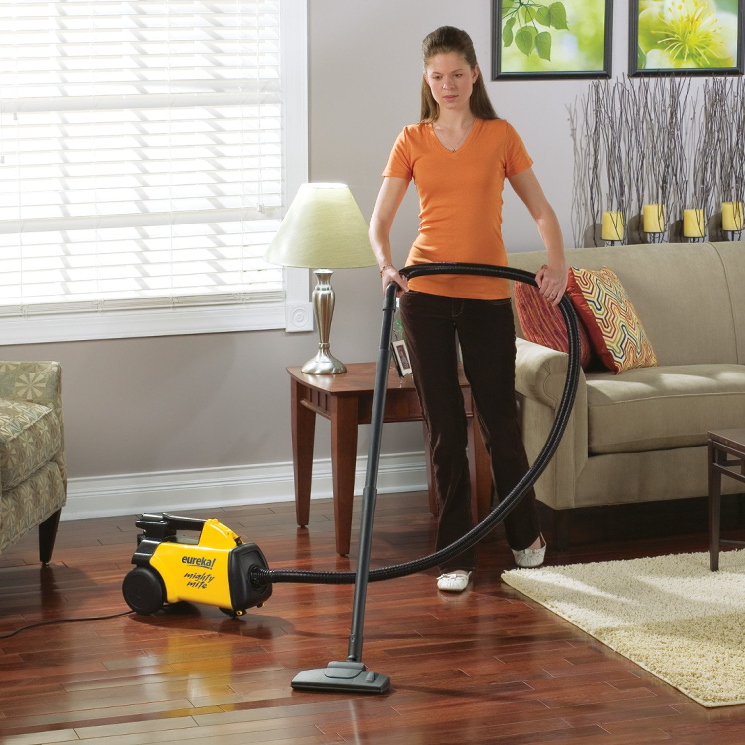 The Eureka 3670G Mighty Mite costs under 100 dollars and is compact yet  very strong. - Best Vacuum For Hardwood Floors €� A 2016-2017 Guide