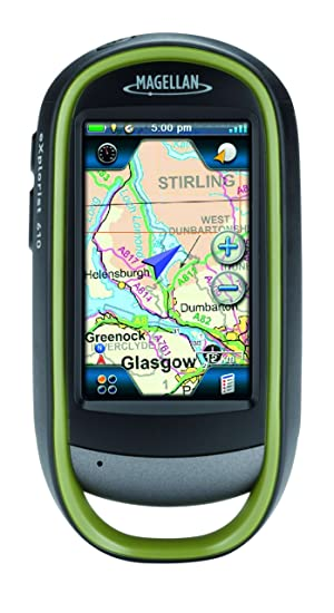 "Magellan eXplorist 610 GPS avec Appareil photo intégré Cartographie Topo WorldMap + Europe Summit Ecran Tactile 3"" Etanche"