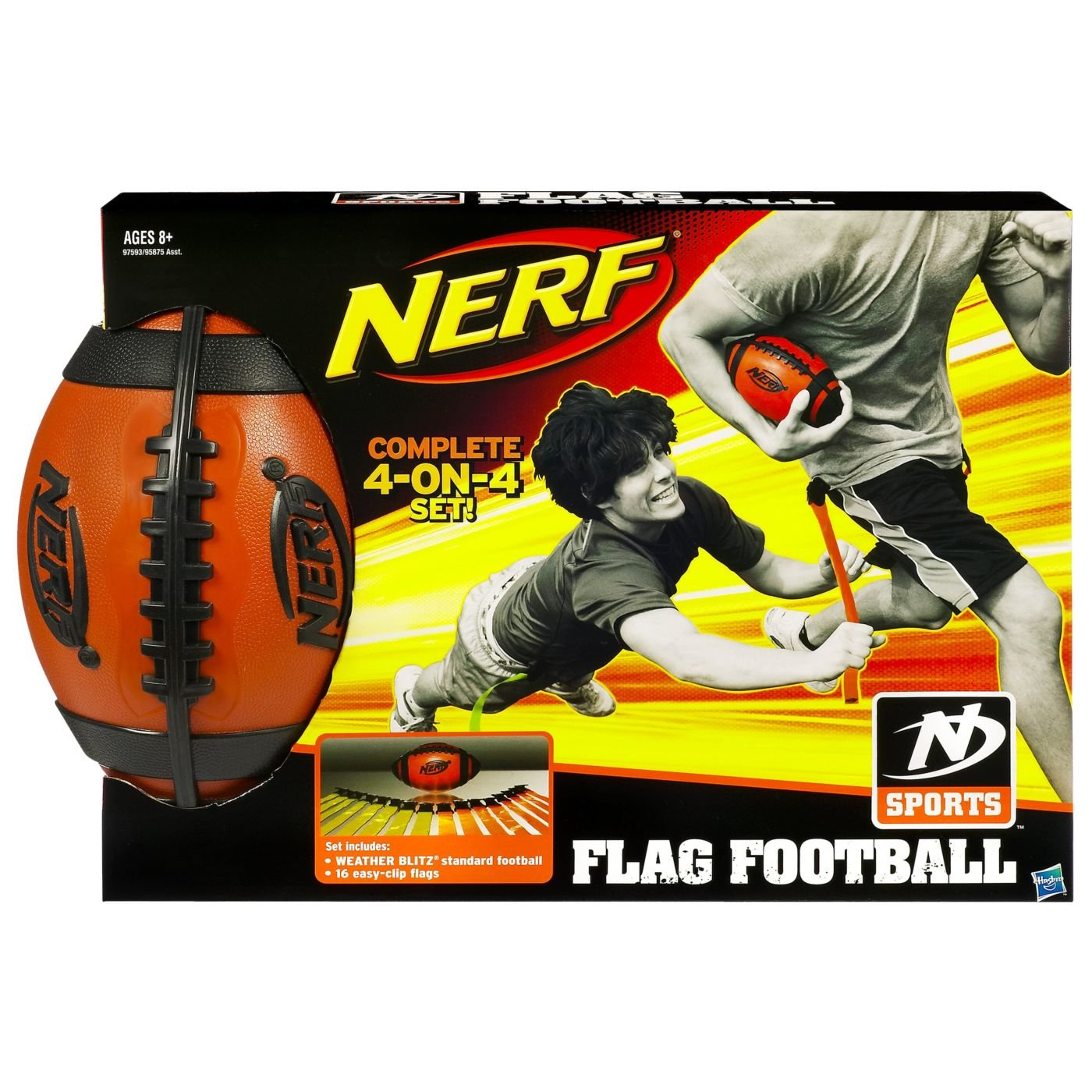 Nerf Flag Football Kit