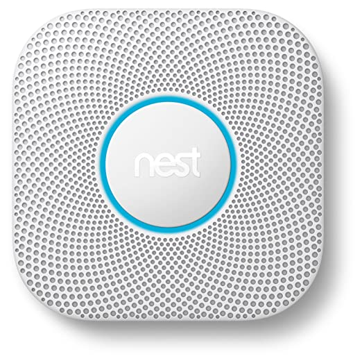 Nest Protect 2nd Gen Smoke + Carbon Monoxide Alarm, Wired: Home Improvement