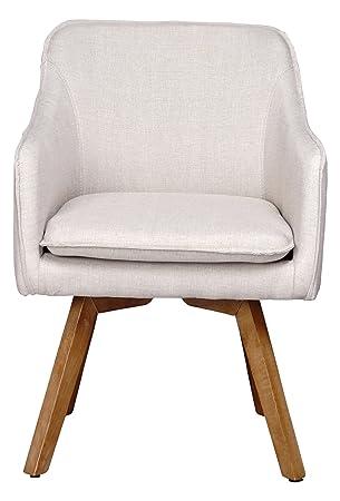 Mein Sessel Skagen III Holzgrundgetstell gepolstert, 55 x 53 x 83 cm, beige