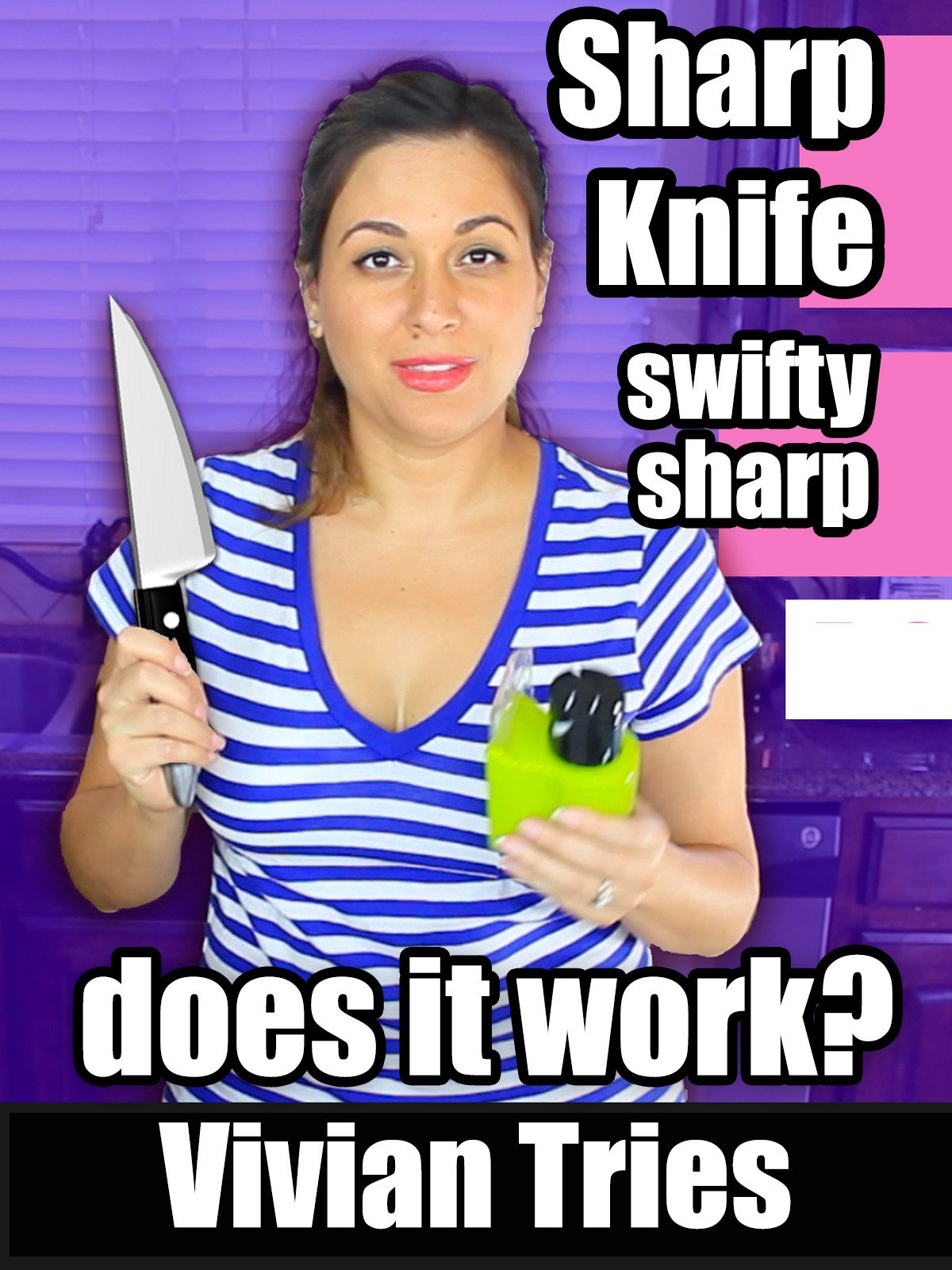 Review: Vivian Tries Sharp Knife Swifty Sharp