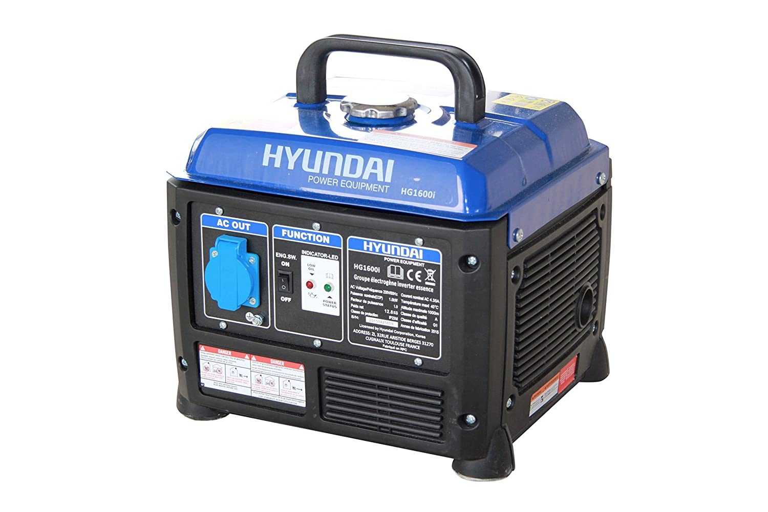 hyundai hg1600i groupe lectrog ne inverter 1200 w ebay. Black Bedroom Furniture Sets. Home Design Ideas