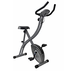 Sunny Health & Fitness Folding Upright Bikes review