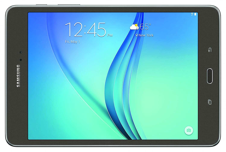 Samsung Galaxy Tab A SM-T350NZAAXAR 8-Inch Tablet (16 GB, Smokey Titanium)