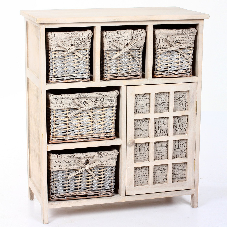 meuble avec panier osier images. Black Bedroom Furniture Sets. Home Design Ideas
