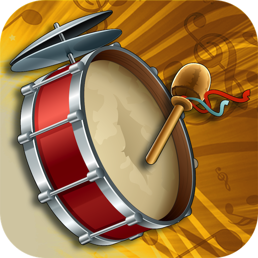 Drums Master - Beautiful drum kit with music playback and live recording mode