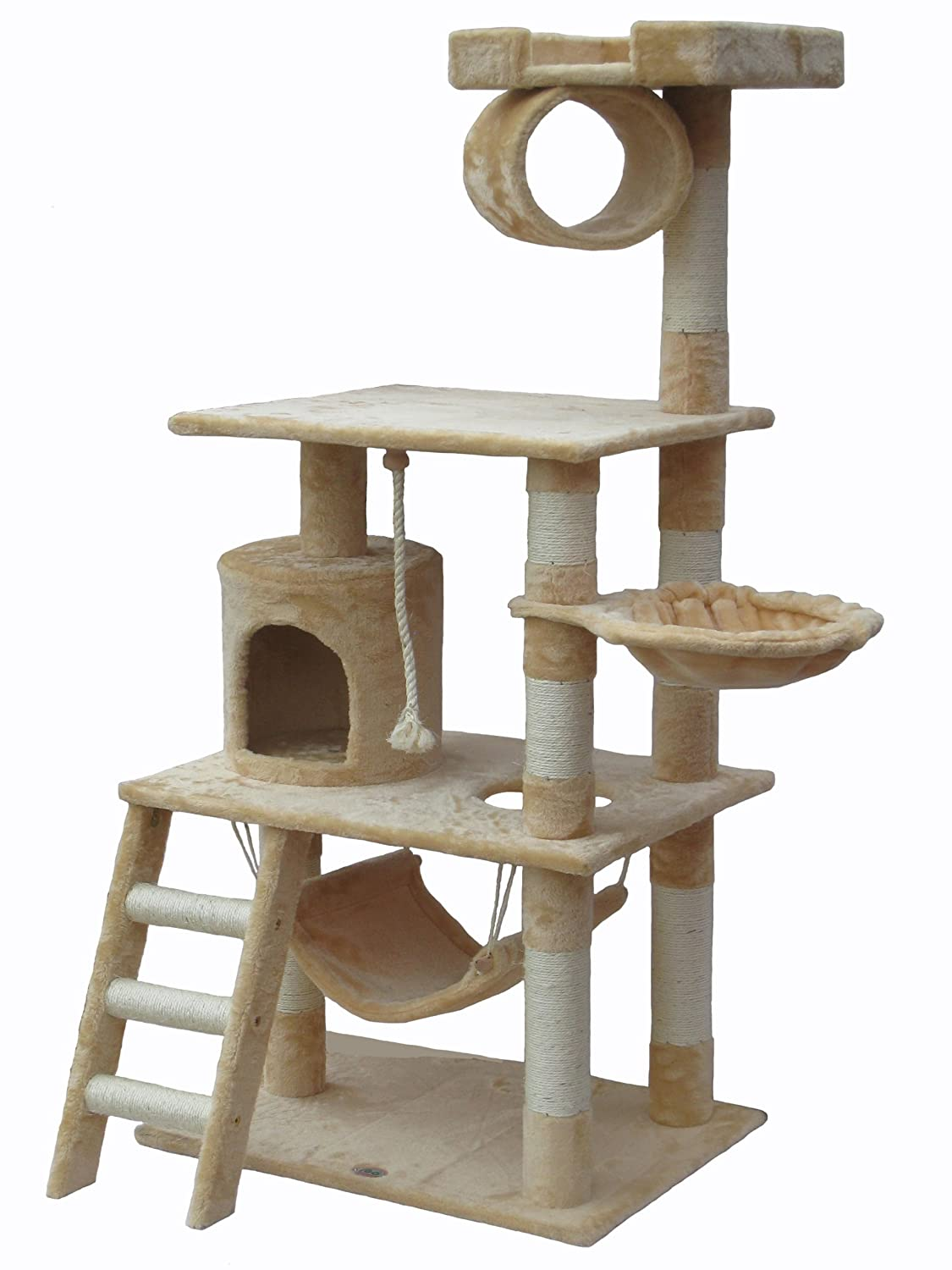 cool cat tree plans - go pet club cat tree furniture  in high