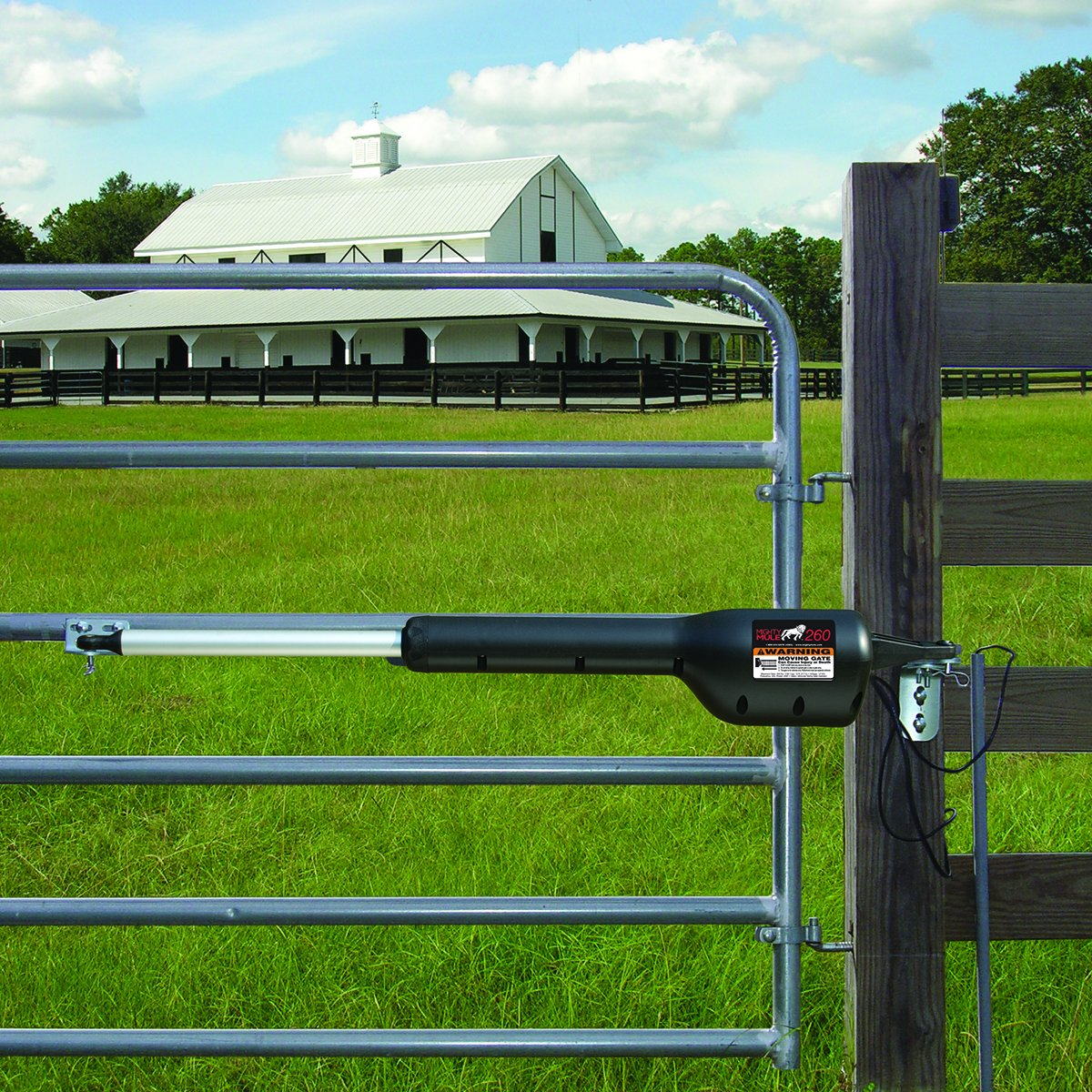 Mighty mule mm automatic gate opener for light duty