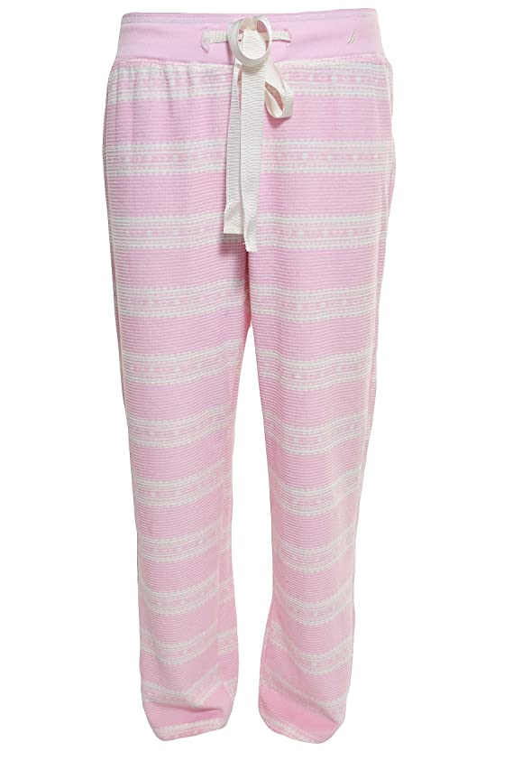 Nautica Sleepwear Women's Ankle Pajama Lounge Pants 28 Length
