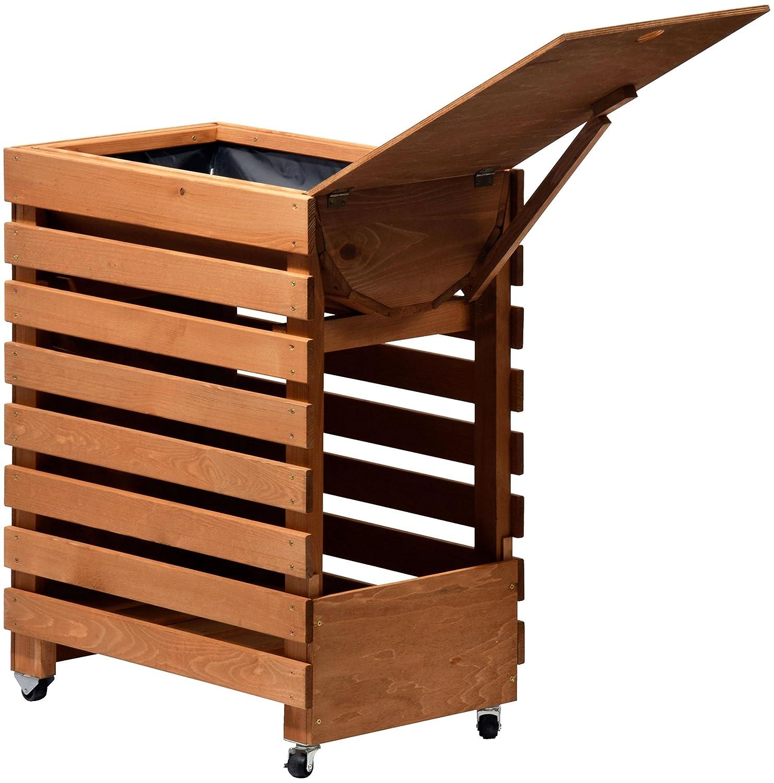 dobar hochbeet auf r dern aus holz fr hbeet bausatz f r gem se kr uter im garten und balkon. Black Bedroom Furniture Sets. Home Design Ideas