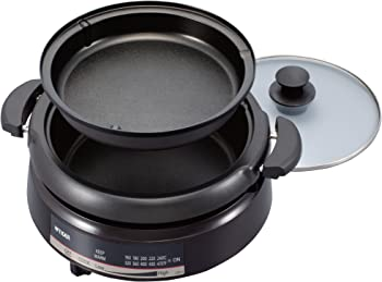 Tiger CQE-A11U T Electric Grill Pan w/2-Way Style Pans