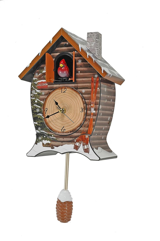 Cuckoo Clocks India Cuckoo Clock Snowy Cabin