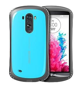 SOOPER LG G3 Funda Carcasa Extreme Durable Air Cushion Series (Aqua Blue) - Electrónica - Revisión del cliente y la descripción más