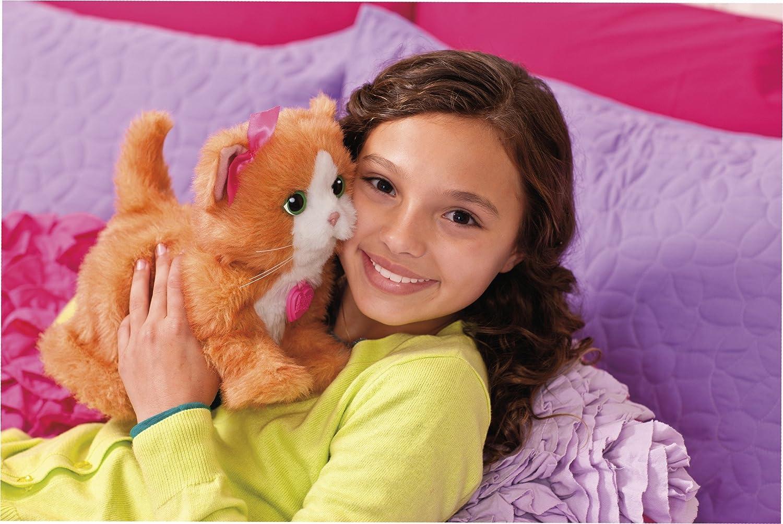 Daisy la gattina interattiva animali peluche per bambini for Cabine di querce reali amano va