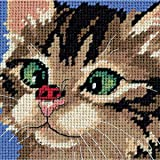 Dimensions Needlecrafts 7206 Needlepoint, Cross-Eyed Kitty