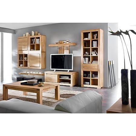 Mesa de centro Max tamaño: 42 cm H x 80 cm W x 80 cm T, color: madera de haya
