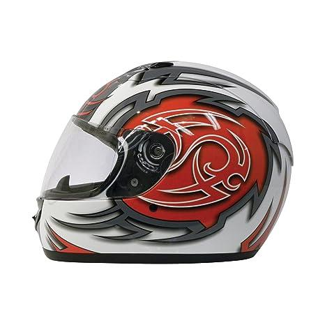 Motorx 4290123 Casque intégral de moto taille XL (Rouge)