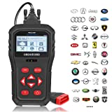 OBD2 Scanner, SEEKONE SK819 Universal Car Code Reader Professional Vehicle Diagnostic Tool Auto Check Engine Light Scan Tool for All OBDII Protocol Cars Since 1996 (Tamaño: SK819)