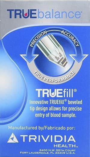 Home Diagnostics 300 Piece Truebalance Glucose Test Strips,
