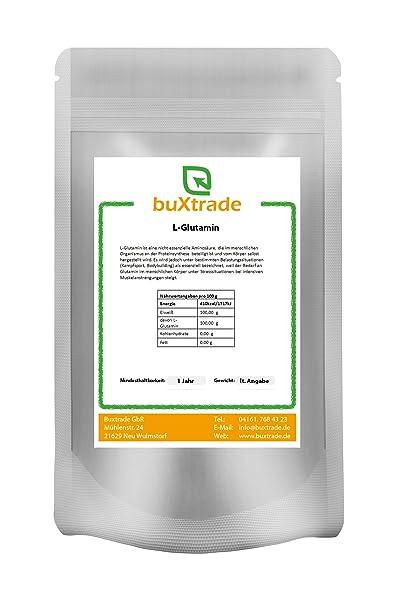 2 x 1 kg L-Glutamin Aminosäure Glutamine Regeneration Muskelaufbau Eiweiss 2kg