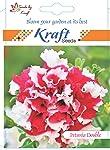 Kraft Seeds Petunia Double Mix Flower Seeds By Kraft Seeds