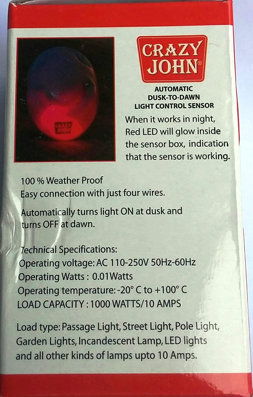 Automatic dusk to dawn light control - Day Night Switch Light Sensor Switch Automatic Light Amazon In Electronics