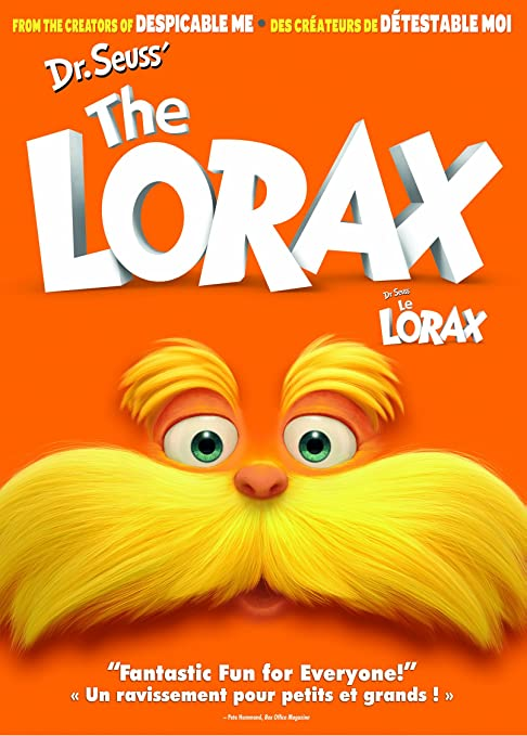 Dr. Seuss' The Lorax/ Dr. Seuss' Le Lorax (Bilingual)