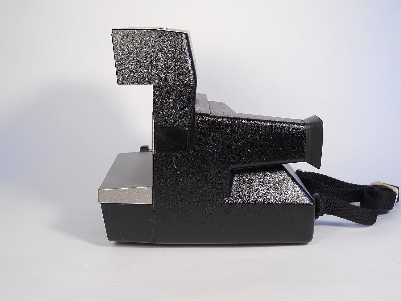 Polaroid Spirit 600 Vintage Instant Camera w/ Silver/Gray Front 3