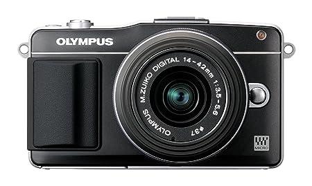 Olympus E-PM2 Kit boîtier Compact hybride 12 Mpix Noir + Objectif 14 42mm Noir
