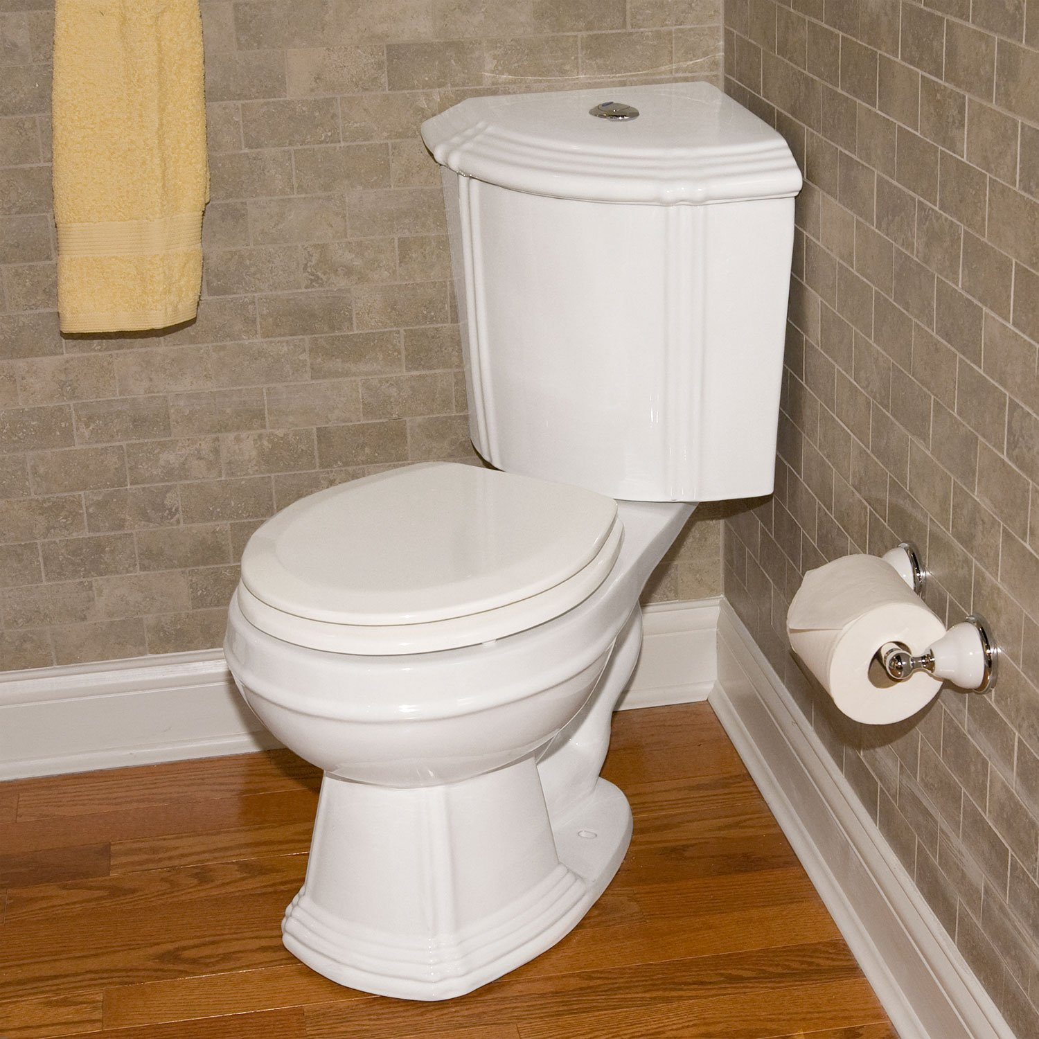 Corner toilet two piece with tank toilet decorations - Corner toilets for small spaces style ...