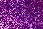 BDPP Premium Plastic Gift Wrappers Violet Holographic Print