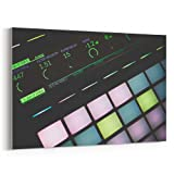 Westlake Art - Canvas Print Wall Art Art - Ableton Live on Canvas Stretched Gallery Wrap - Modern Picture Photography Artwork - Ready to Hang - 18x12in (37x 038)