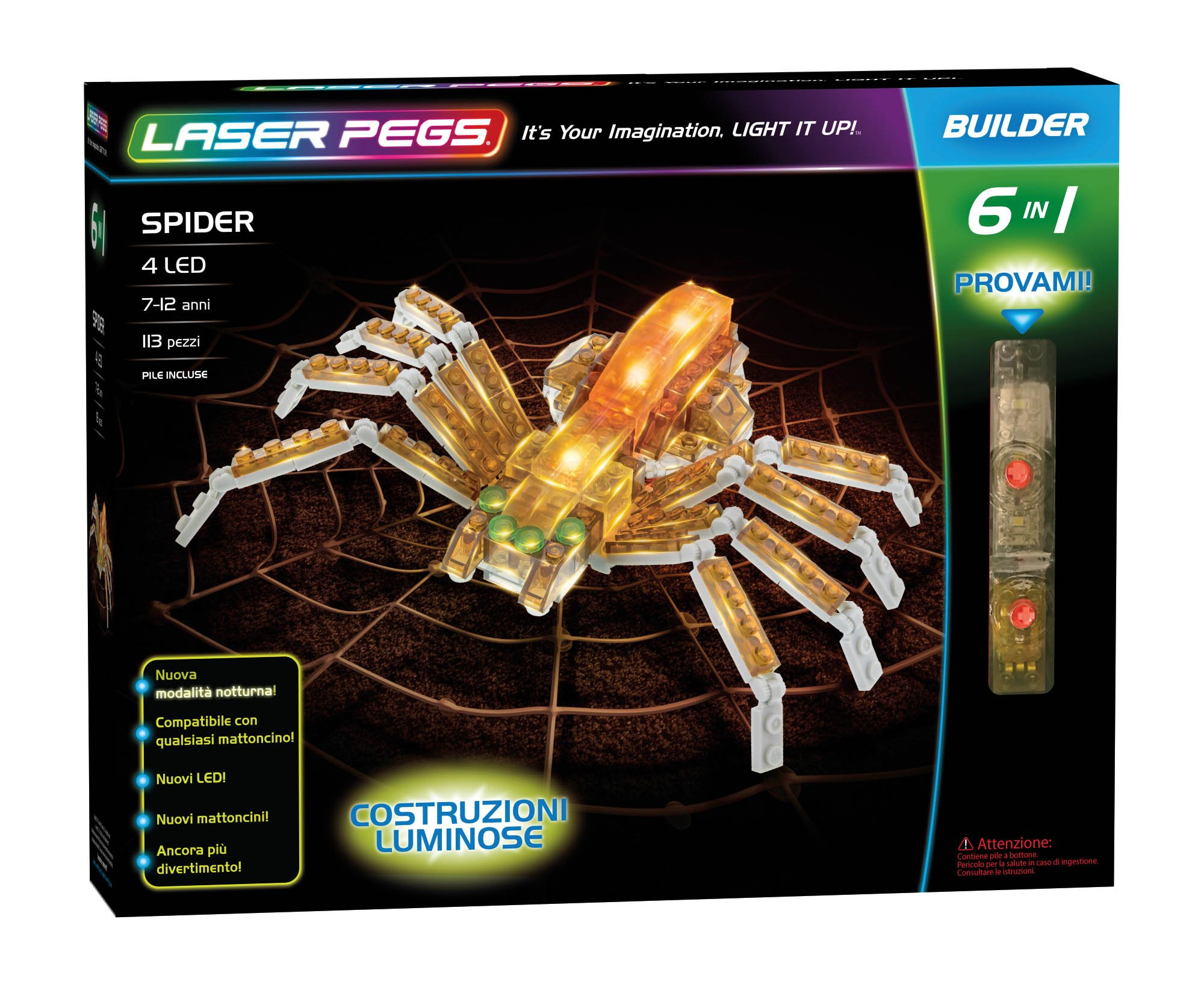 Buy Laser Pegs Spider Now!