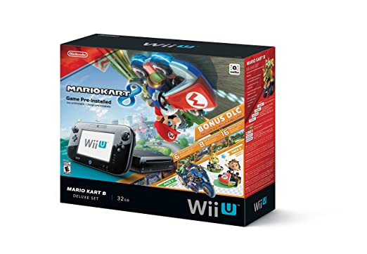 Nintendo Wii U 32GB Mario Kart 8 (Pre-Installed) Deluxe Set