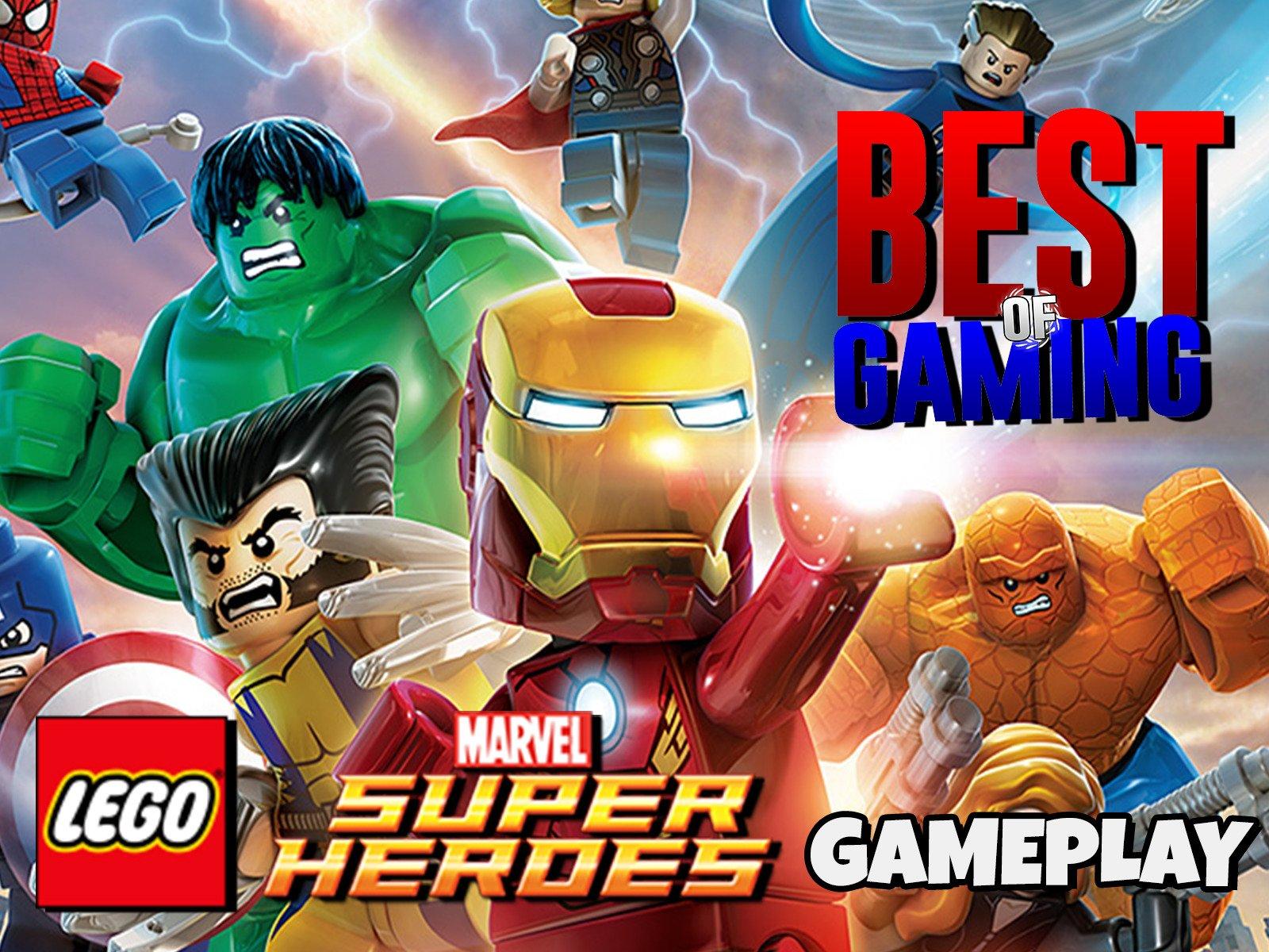 Clip: Lego Marvel Super Heroes Gameplay - Season 1