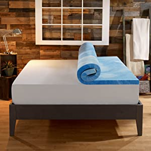 Sleep Innovation 4 Inches Dual Layer Mattress Topper
