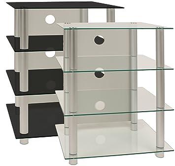weko hifi m bel rack phonom bel rack regal tisch alu. Black Bedroom Furniture Sets. Home Design Ideas