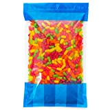 Bulk Mike & Ikes in an 8 lb Resealable Bomber Bag - Fresh, Tasty Treats - Great for Office Candy Bowls - Wholesale - Refill Candy Vending Machines - Holidays - Parties (Tamaño: 8 Pound Bag)