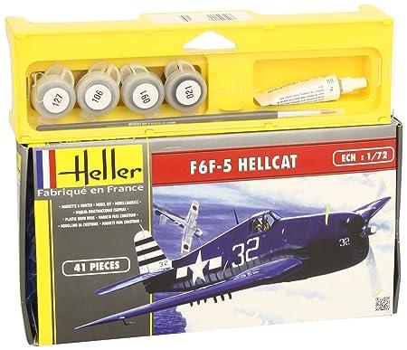 Heller - 50272 - Maquette - F6F-5 Hellcat - Chasseur Deuxième Guerre Mondiale