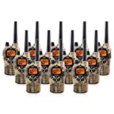 Midland GXT1050VP4 36-Mile JIS4 Waterproof 50-Channel FRS/GMRS Two-Way Camo Radio (12 Pack) (Tamaño: 12 Pack)