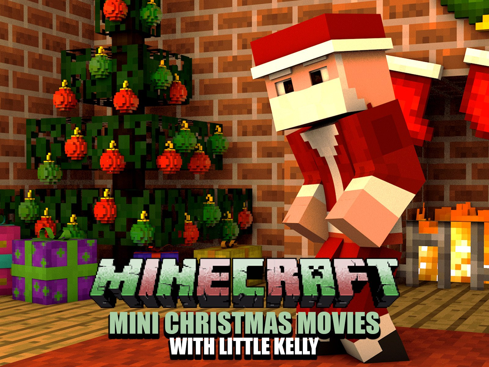 Christmas Minecraft Mini Movies with Little Kelly - Season 1