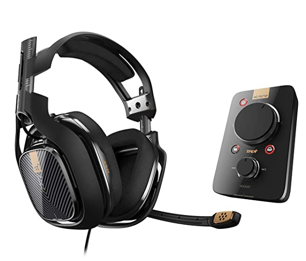 ASTRO Gaming A40 TR Headset + MixAmp Pro TR for PlayStation 4 (2017 Model) (Color: Black)