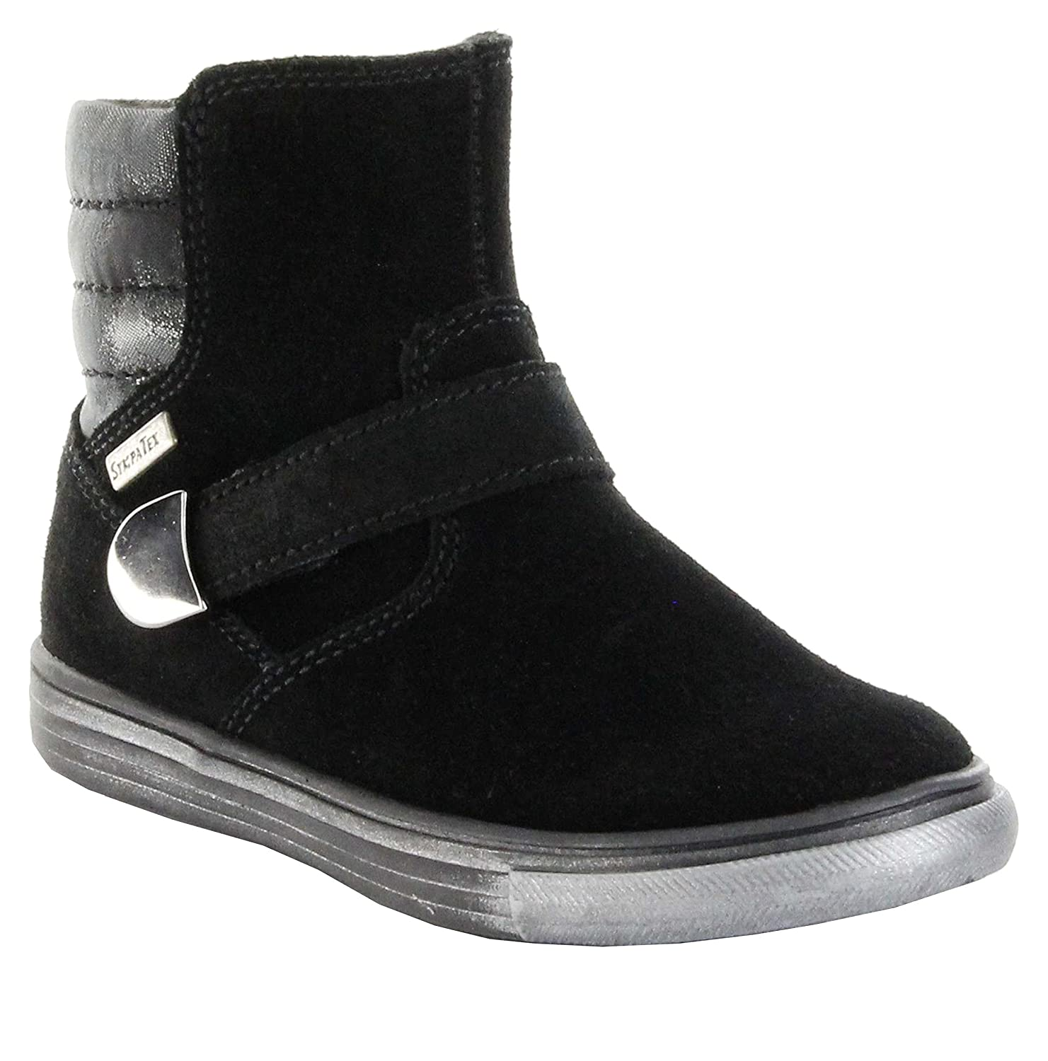 Richter Kinder Winter Stiefeletten black Velour Warm TEX Mädchen 3145-623-9900
