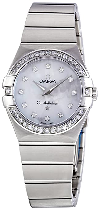 Omega Women's 123.15.27.60.55.001 Constellation Mother-Of-Pearl Dial Watch